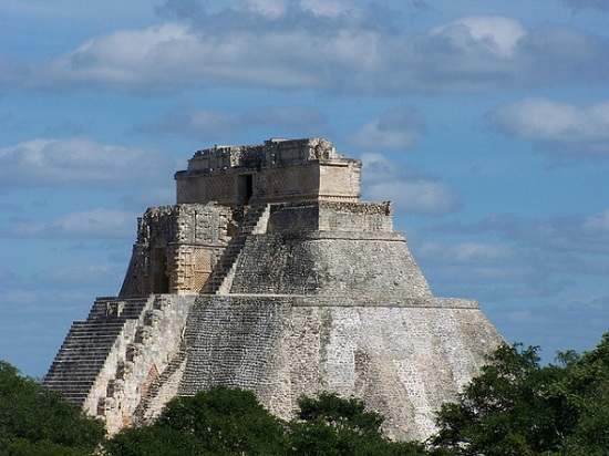 Ancient Mexico Pyramid